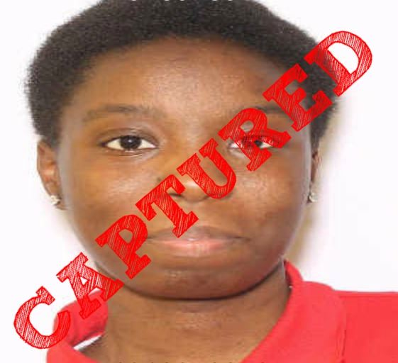 Shanasia Johnson captured
